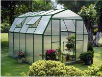 Теплицы, системы полива, садовые грядки.